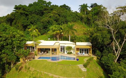 4.85 ACRES – 2 Bedroom Modern Tropical Home With Pool And Ocean View Plus 1 Bedroom Guest Home!!