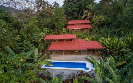 6 Acre – 4 Bedr.Villa w/Pool&Jacuzzi, Ocean&Jungle View w/Trails + two 0.6Acre Lots!!
