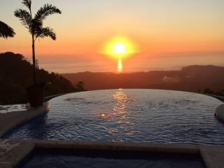 8.6 ACRES - 3 Bedroom Luxury Home And Guest House With Stunning Year Round Sunsets!!!