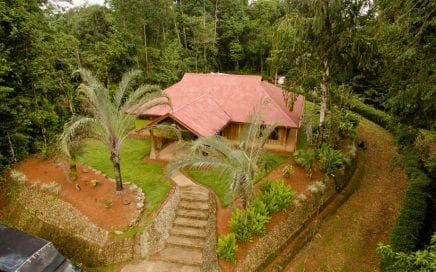 3.5 Acres -2 Bed + Study, Teak Build Home with Spring and Room to Build More!!!