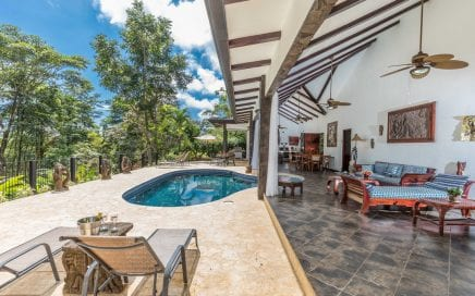 1.6 ACRES – 3 Bedroom Bali Style Home With Pool And Great Access Plus Caretaker's House!!