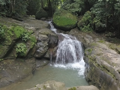 9 ACRES - Beautiful Bamboo Home in the Mountains, 2 min walk to Private Waterfall!!