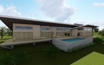 3.8 ACRES – 3 Bedroom Modern Tropical Home With Infinity Pool And Amazing Sunset Ocean Views!!!