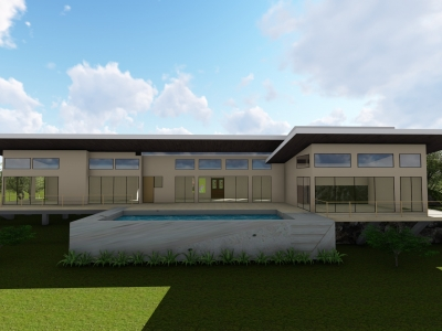 3.8 ACRES - 3 Bedroom Modern Tropical Home With Infinity Pool And Amazing Sunset Ocean Views!!!