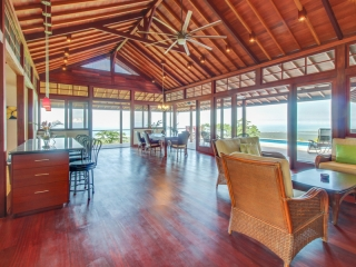7.58 ACRES - 3 Bedroom Bali Style Compound With Ocean View And Pool!!!