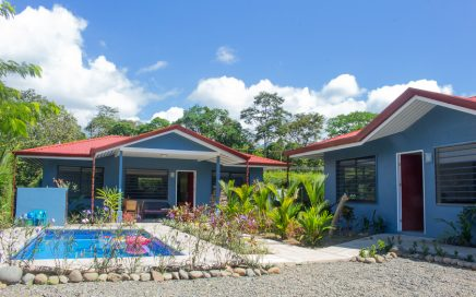 0.14 ACRES – 4 Bedrooms Spread Over 2 Homes With Pool 150 Meters From River!!