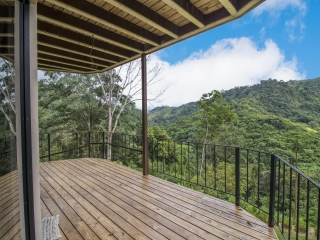 1.24 ACRES - Two Bedroom, Open Architecture, Spectacular Valley and Mountain View, Very Private, 15 Minutes From Dominical!!!