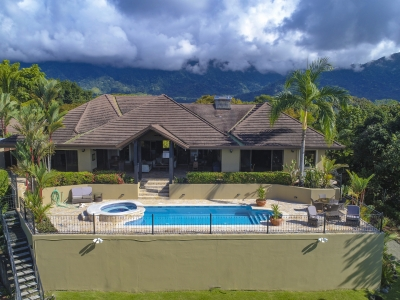 0.73 ACRES - 5 Bedroom Luxury Ocean View Home With Pool!!!