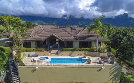 0.73 ACRES – 5 Bedroom Luxury Ocean View Home With Pool!!!