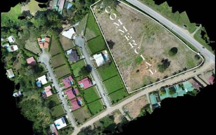 1.2 ACRES – Commercial Property With Paved Highway Frontage In Uvita!!!
