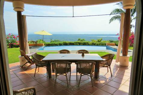 3.8 ACRES - 4 Bedroom Ocean View Home With Pool, Good Access, Very Private!!