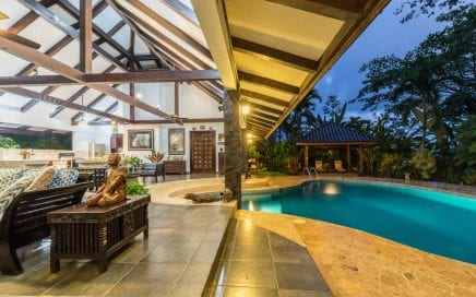 1.5 ACRE – Ocean View Bali Compound With Garden Collection Very Close To Highway!!!