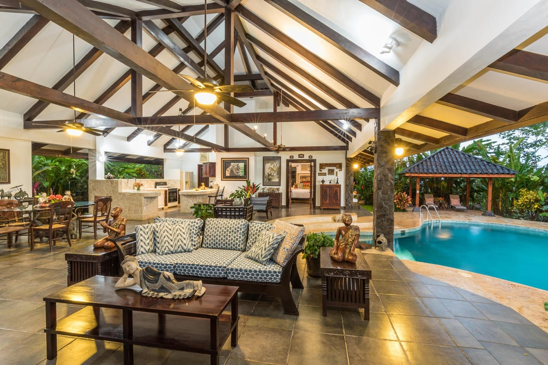 1.5 ACRE - Ocean View Bali Compound With Garden Collection Very ...