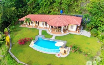 3.8 ACRES – 4 Bedroom Ocean View Home With Pool, Good Access, Very Private!!