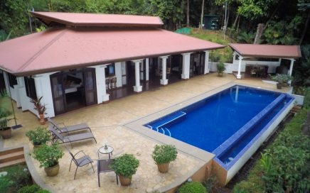 5 ACRES – 3 Bedroom Luxury Home With Pool And Ocean View In Escaleras!!!