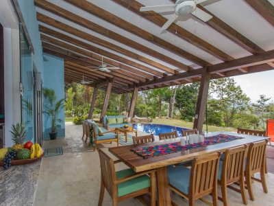 1.25 ACRES - 3 Bedroom Modern Tropical Home With Pool And Great Ocean View!!!!