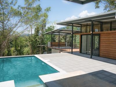 0.55 ACRES - 2 Bedroom Modern Home With Pool!!!