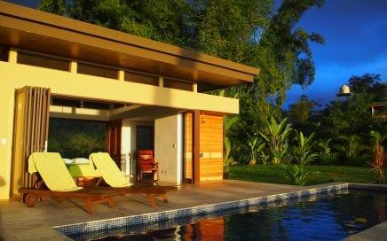 3.75 ACRES – 3 Bedrooms In 2 Homes, Pool, Ocean Views, Off Grid Solar Power!!!
