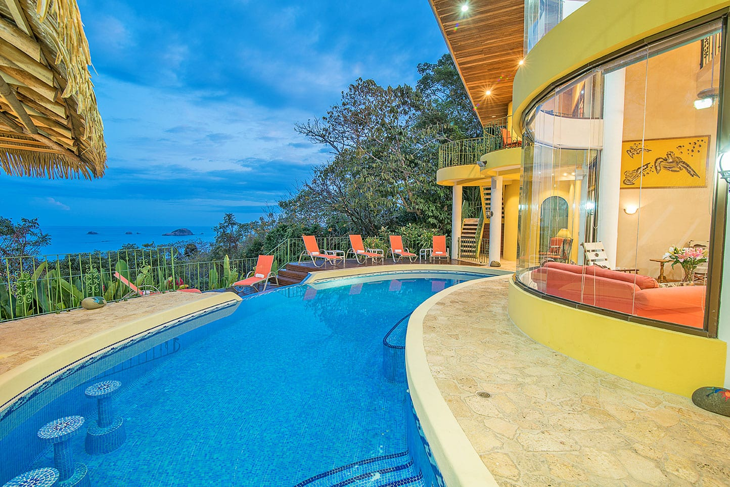 1 ACRE - 7 Bedroom Manuel Antonio Park Ocean View Home With Pool!!!!