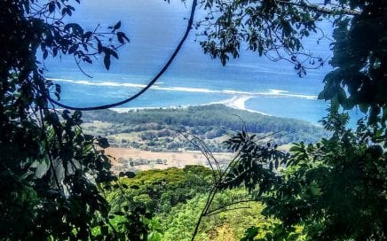 45 ACRES – Ocean View Acreage With Many Building Sites, Rivers, and Waterfalls!!!!