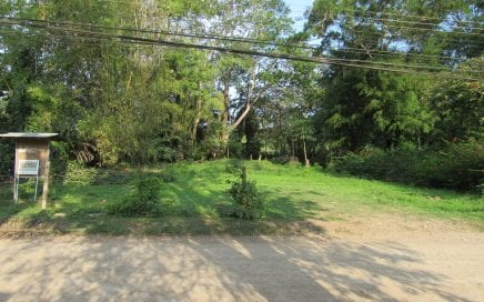 0.42 ACRES – Flat Commercial Property On Main Street Dominical With Amazing River And Ocean Views!!!