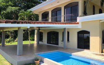 2 ACRES – 4 Bedroom Manuel Antonio Sunset Ocean View Home With Pool In The Hills Of Portalon!!!!