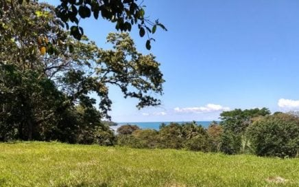 1.59 ACRES – Amazing Ocean View Lot With Power And Water Near Playa Pilon!!!