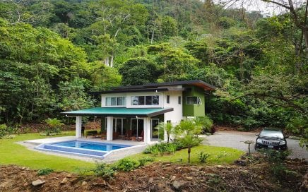 1.74 ACRES – 3 Bedroom Luxury Home With Pool And Ocean View In Jungle Setting!!!