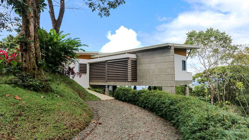 2.8 ACRES - 2 Bedroom Sunset Ocean View Home With Pool In Escaleras!!!