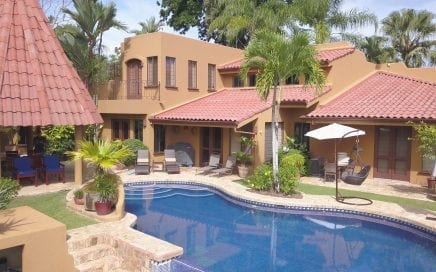 2.25 ACRES – 4 Bedroom Lagunas Estate Providing Main House with Three Bedrooms and a Full Casita on Landscaped Luxury Lot!