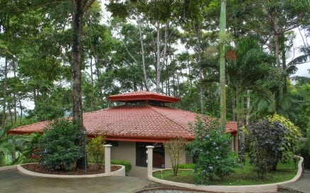 1.25 ACRES – 3 Bedroom Ocean View Home In Tropical Jungle Setting!!!!