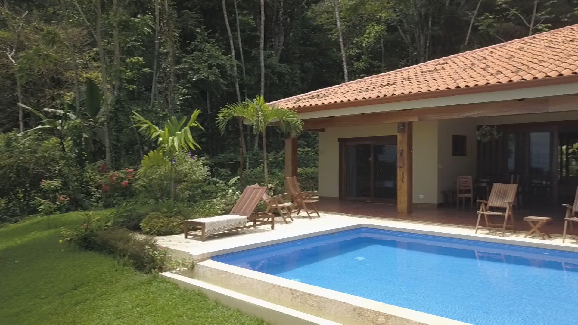 0.83 ACRES - 4 Bedroom Ocean View Home With Pool In Escaleras!!!