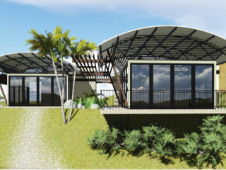 0.1 ACRES - 2 Bedroom Home With Small Ocean View - Pre Costruction Price!!