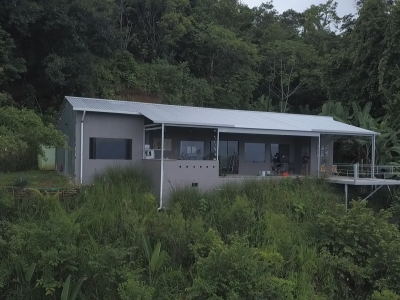 0.91 ACRES - 2 Bedroom Home Spectacular Ocean View - Location, Location, Location