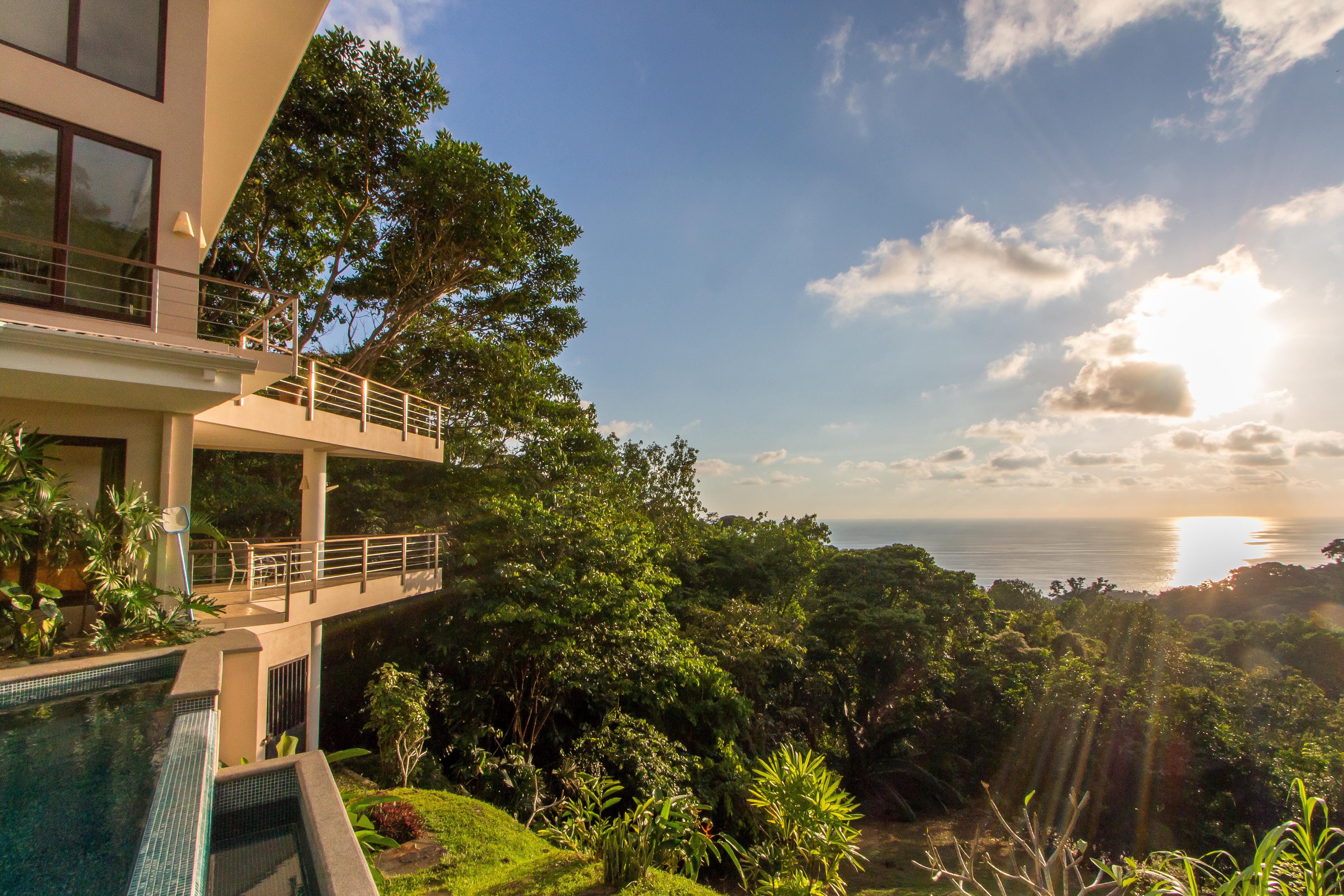 2.4 ACRES - 3 Bedroom Luxury Ocean View Home With Pool Located In Escaleras!!!!