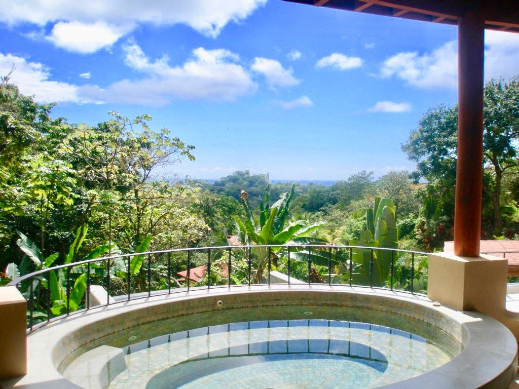 1 ACRE - 4 Bedroom Ocean View Home With Large Pool And Distant Ocean View!!!