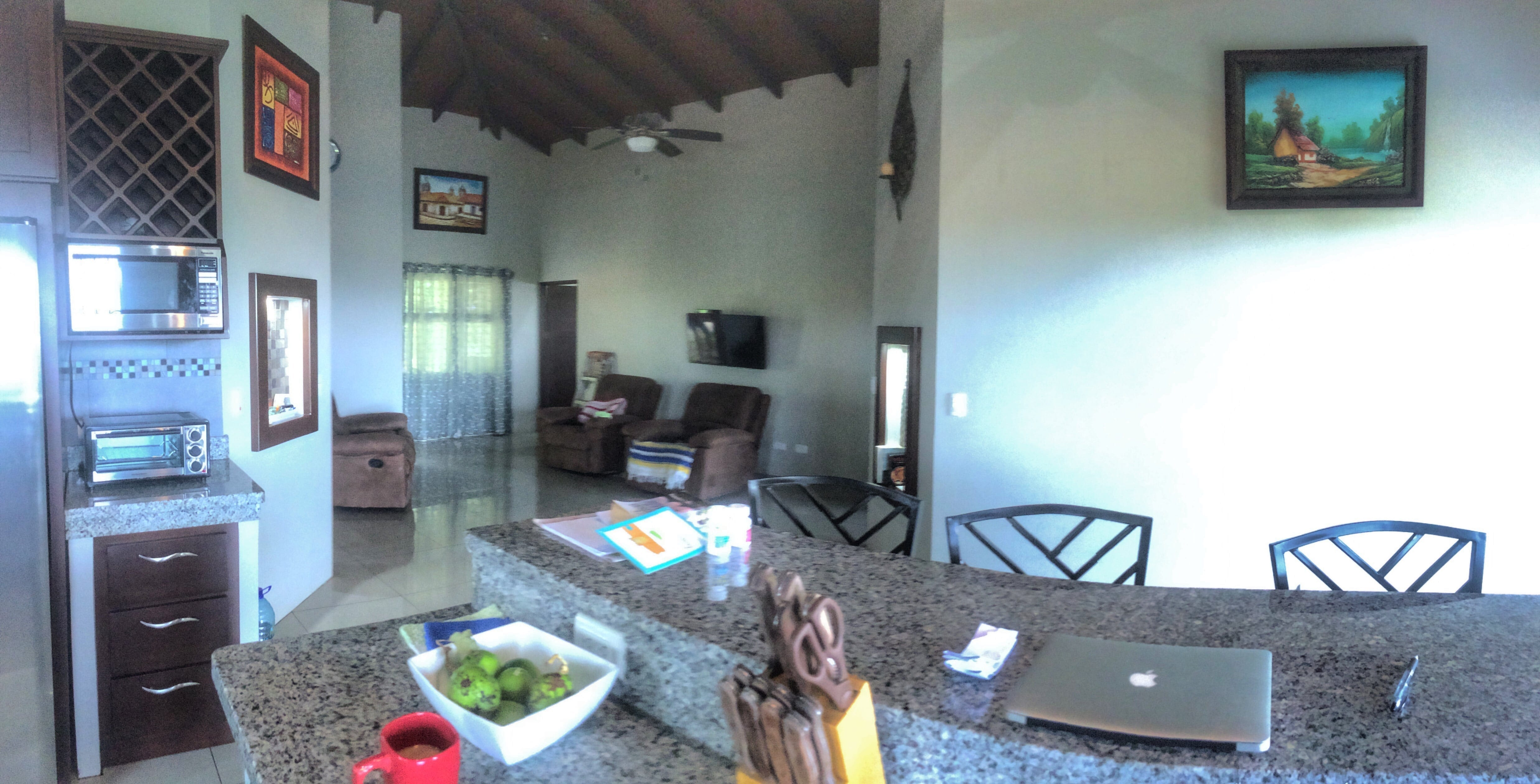 9.4 ACRE - 2Bedr. Home, BBQ Lounge, Shed, Horse Corrals, Fruit Trees, Creek, Ocean &Mountain Views!!