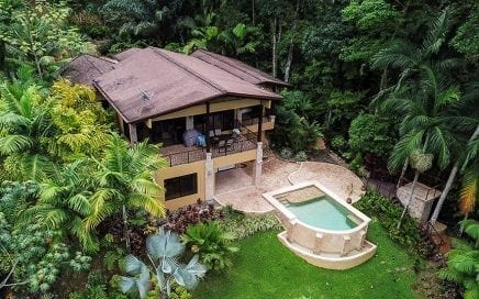 1.25 ACRES – 3 Bedroom Luxury Ocean View Home With Pool In Gated Community!!!