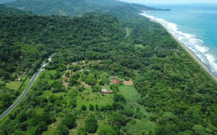 31 ACRES – Flat Developable Acreage With Highway Frontage Just 200 Meters From The Beach!!!!