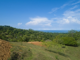 3.41 ACRES - Ocean View Property Minutes From Uvita Perfect For Estate Or Hotel!!