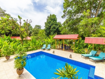 2.2 ACRES - Turn Key Boutique Hotel In The Heart Of Ojochal With Pool And Owner's Home!!!