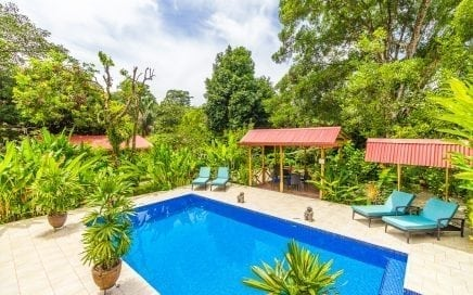 2.2 ACRES – Turn Key Boutique Hotel In The Heart Of Ojochal With Pool And Owner's Home!!!