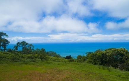 2.16 ACRES – Beautiful Ocean View Property With Huge Building Site In Costa Verde Estates!!
