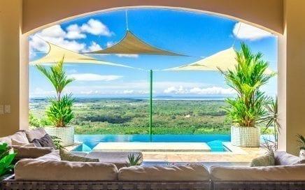 2.9 ACRES – 3 Bedroom Luxury Ocean View Home With Infinity Pool!!!!