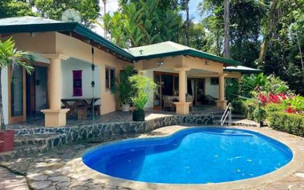 3.34 ACRES – 2 Bedroom Ocean View Home With Pool And Great Access Surrounded By Jungle!!!