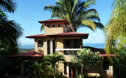 0.86 ACRES – 2 Bedroom Ocean View Home Plus Two Bedroom Cabin & Pool – Income Property Dream Home!!