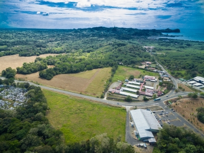 5 ACRES - Perfectly Flat And Usable Commercial Property Right On The Highway Minutes From Manuel Antonio And Quepos!!!!
