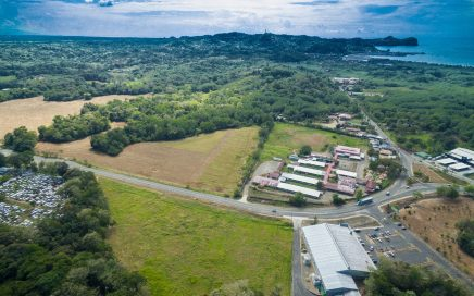 5 ACRES – Perfectly Flat And Usable Commercial Property Right On The Highway Minutes From Manuel Antonio And Quepos!!!!