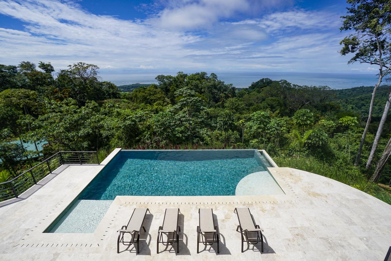 3.9 acres - 4 bedroom brand new luxury ocean view home with infinity