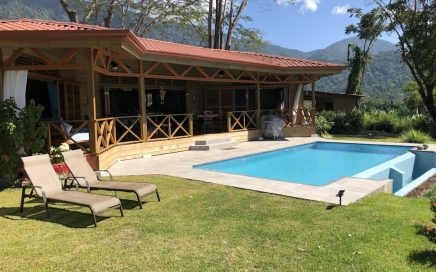 0.76 ACRES – 2 Bedroom Brand New Ocean View Home With Infinity Pool!!!